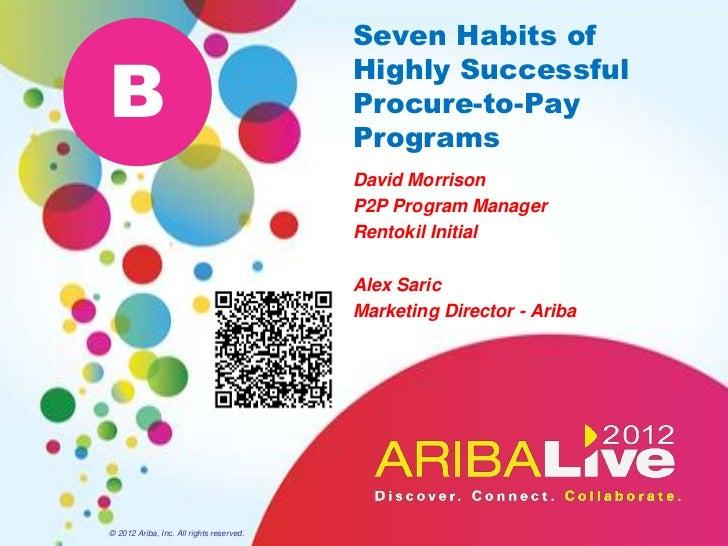 Seven Habits ofB                                          Highly Successful                                          Procu...