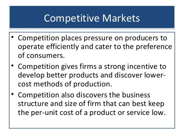 Seven major sources of economic progress