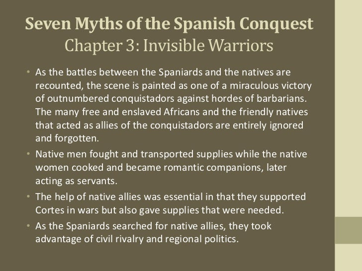 the spanish conquisxat The spanish conquest of the aztec empire, or the spanish–aztec war (1519–21), was the conquest of the aztec empire by the spanish empire within the context of the spanish colonization of the americas.