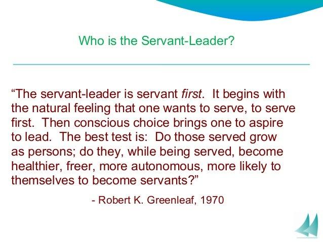 Seven pillars of servant leadership Slide 2