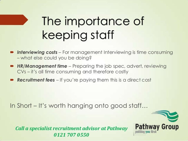 Seven reasons staff leave - How to keep good staff from leaving