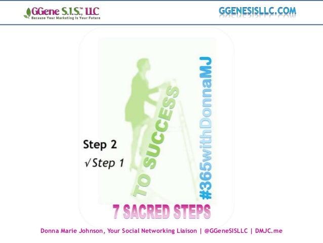 Donna Marie Johnson, Your Social Networking Liaison | @GGeneSISLLC | DMJC.me