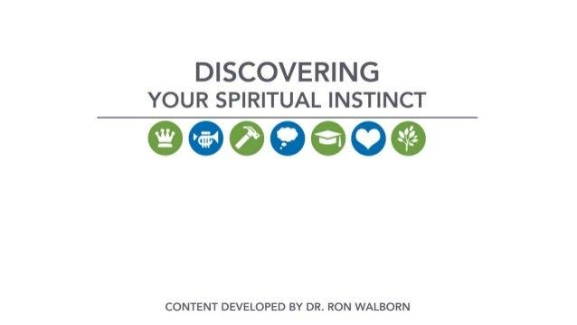 Seven spiritual instincts