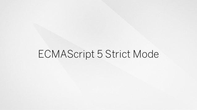 Seven Steps To Better JavaScript