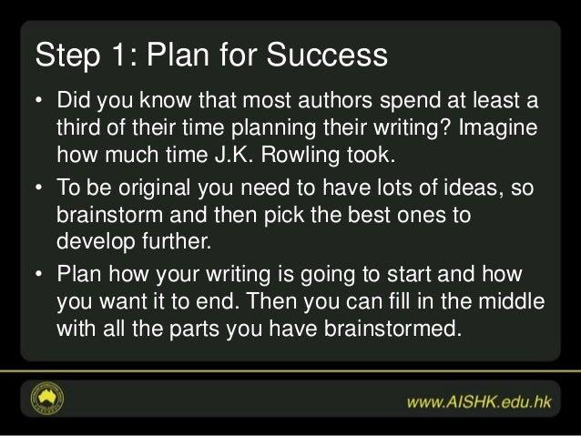 essay-steps to success