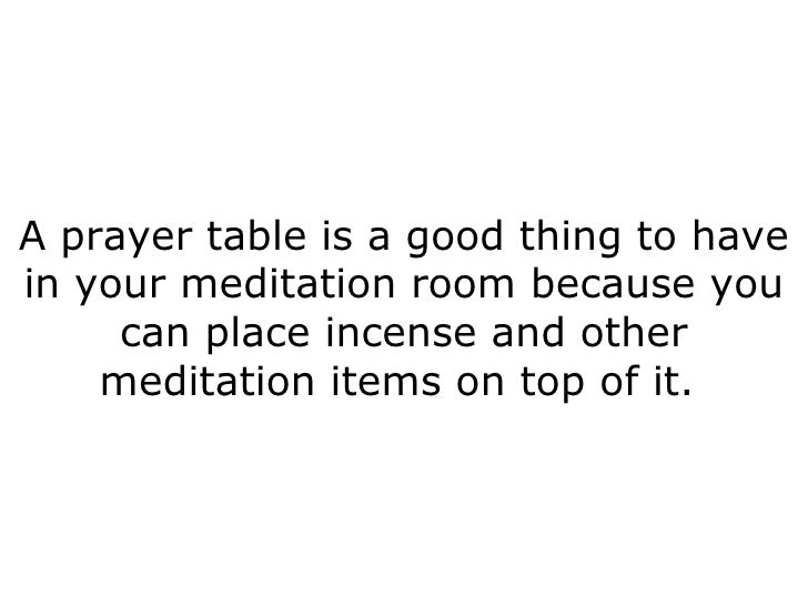 Seven Things You Should Consider Having in Your Meditation Room