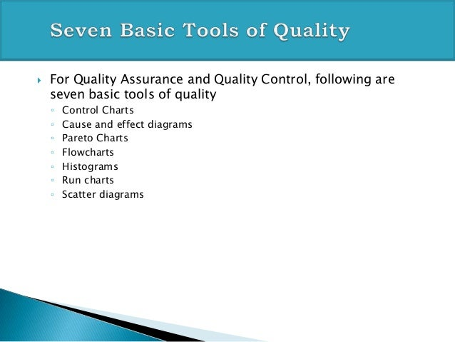 seven tools of quality for pmp exam