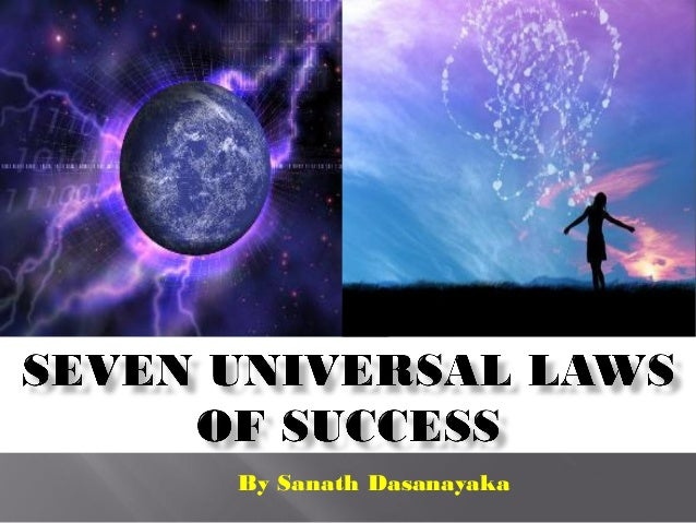 Seven Universal Laws of Success