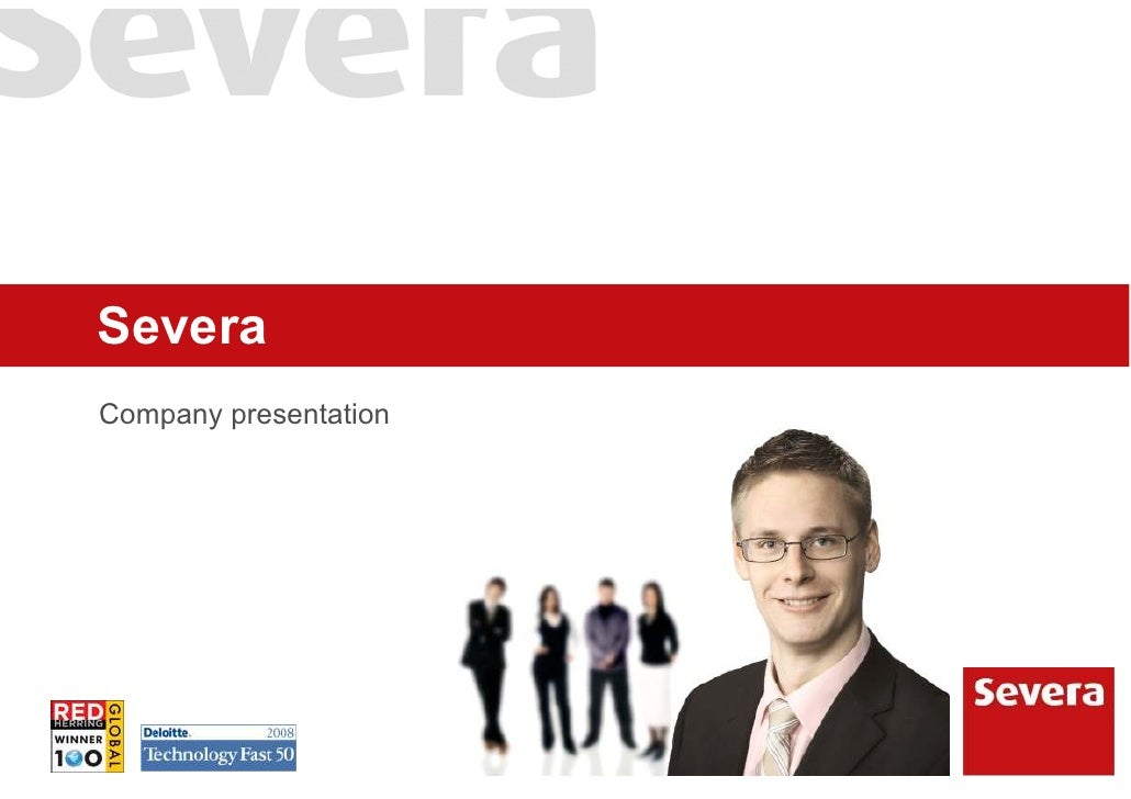 Severa Company presentation