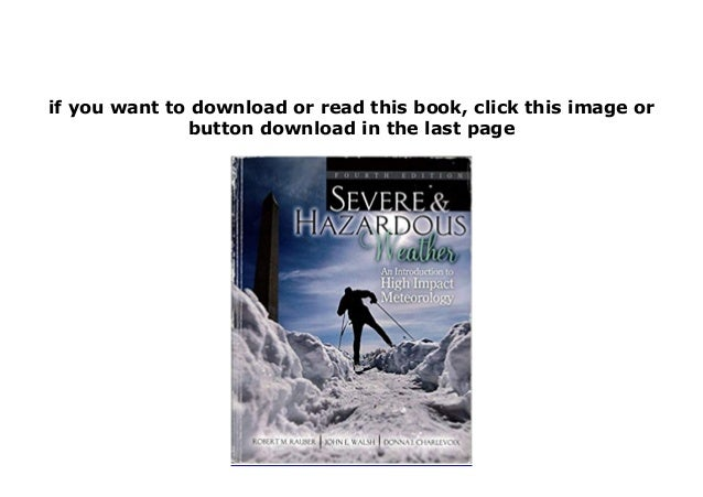 Kindle library Severe and Hazardous Weather An