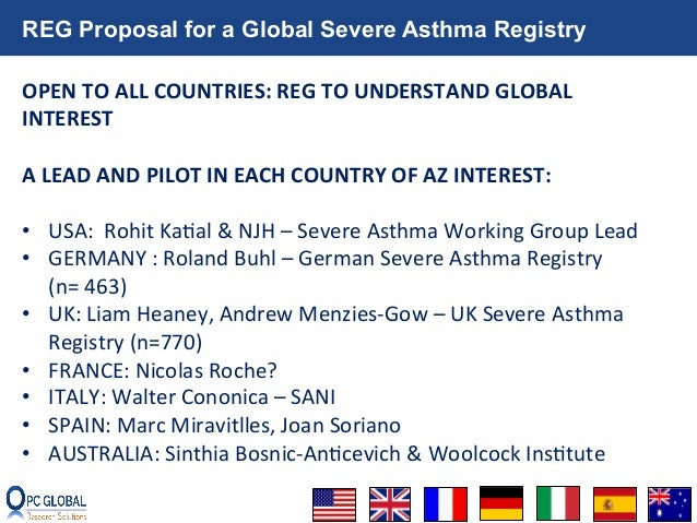 Severe Asthma and Biomarkers Working Group Meeting