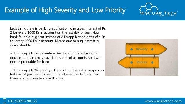 severity and priority in software testing manual testing tutorial rh slideshare net Guru99 Software Testing Tutorials Guru99 Manual Testing 1-25