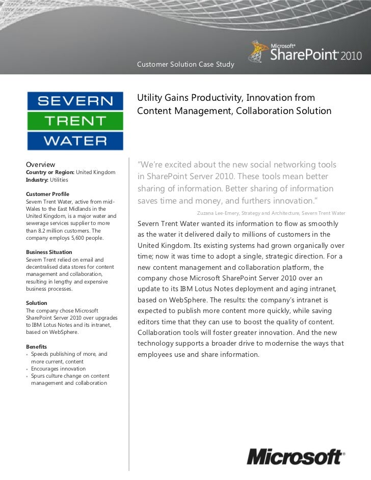 Customer Solution Case Study                                        Utility Gains Productivity, Innovation from           ...