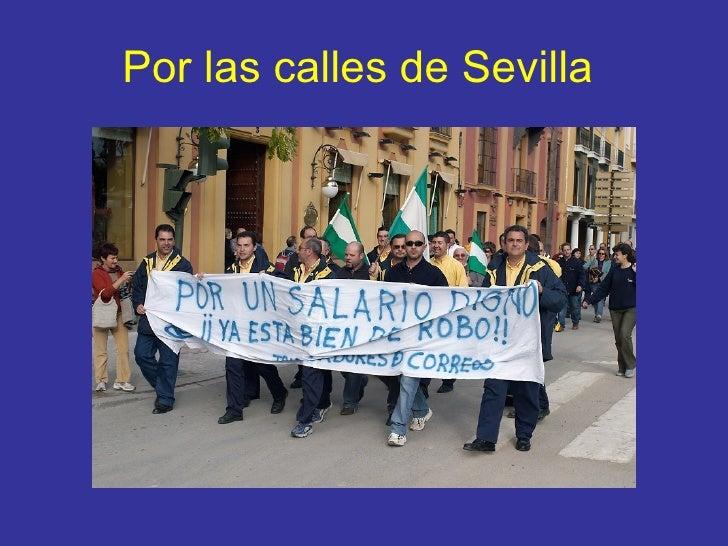 Por las calles de Sevilla