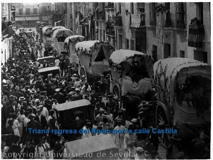 Triana regresa del Rocío por la calle Castilla