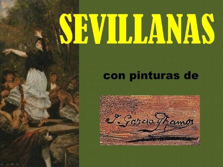 JOSÉ GARCÍA RAMOS    SEVILLA 1852 – SEVILLA 1912    En 1872 viaja a Roma con José    García Aranda, conociendo a    Marian...