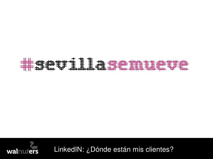 LinkedIN: ¿Dónde están mis clientes?