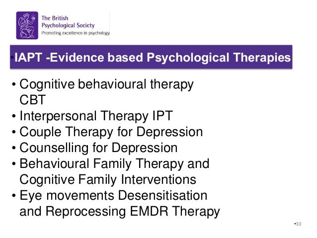 Does Cognitive Behavioral Therapy Treat Depression?