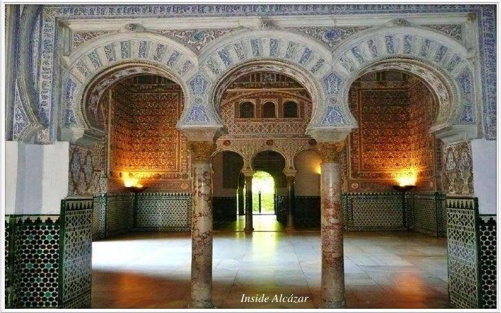 Alcázar – Jardines                     Las jardines de real alcazar