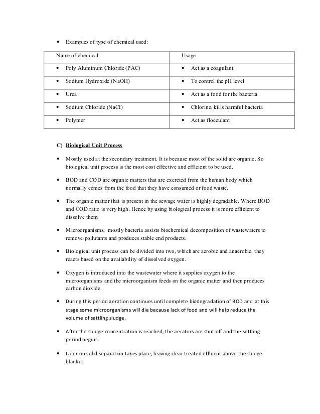 Sewage Treatment System 8