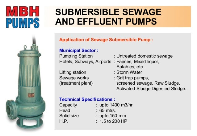Solid Handling Submersible pump