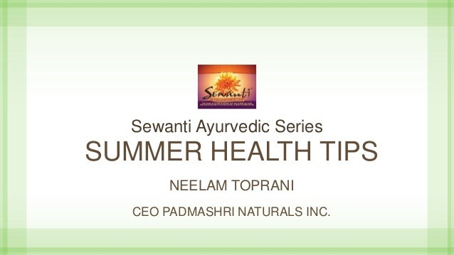 summer health tips images