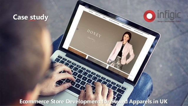 Case study Ecommerce Store Development for Sewed Apparels in UK