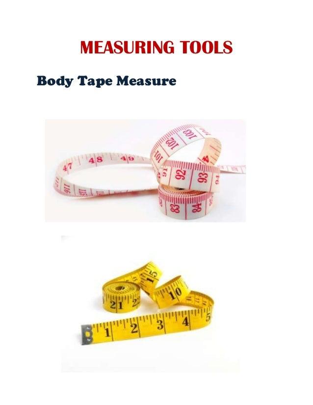 MEASURING TOOLS Body Tape Measure