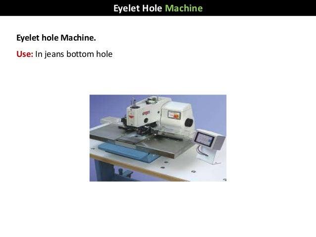 Eyelet hole Machine. Use: In jeans bottom hole Eyelet Hole Machine