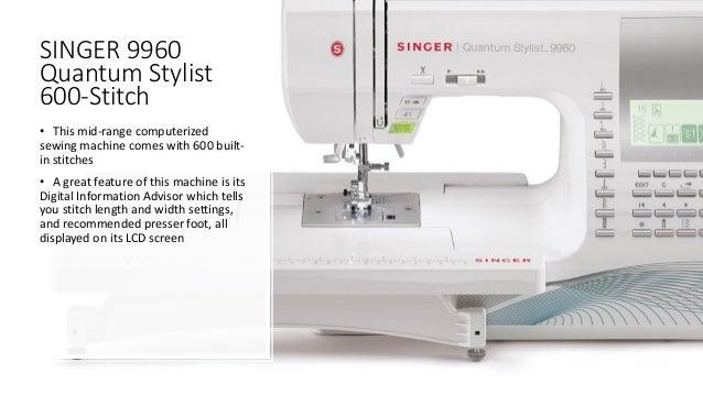 The Best Sewing Machines 40 Best Best Sewing Machine 2017