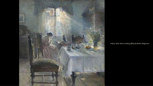 Sewing Women (Paintings) Slide 2
