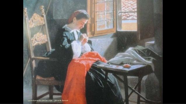La costurera de camisas rojas - Odoardo Borrani