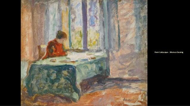 Henri Lebasque - Woman Sewing