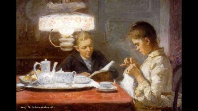 Sisters - Elin Danielson-Gambogi - 1891