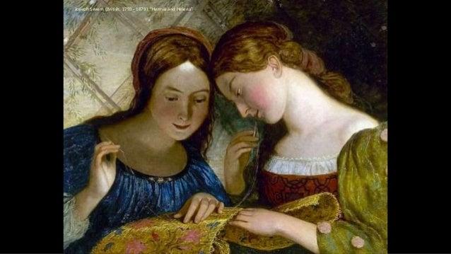 """Joseph Severn (British, 1793 - 1879), """"Hermia and Helena"""""""