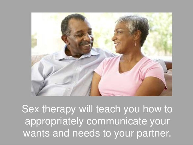 How much is sex therapy