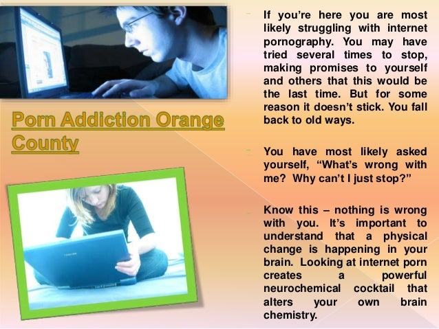 Porn addiction counseling