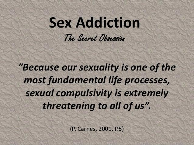 Secret life of a sex addict