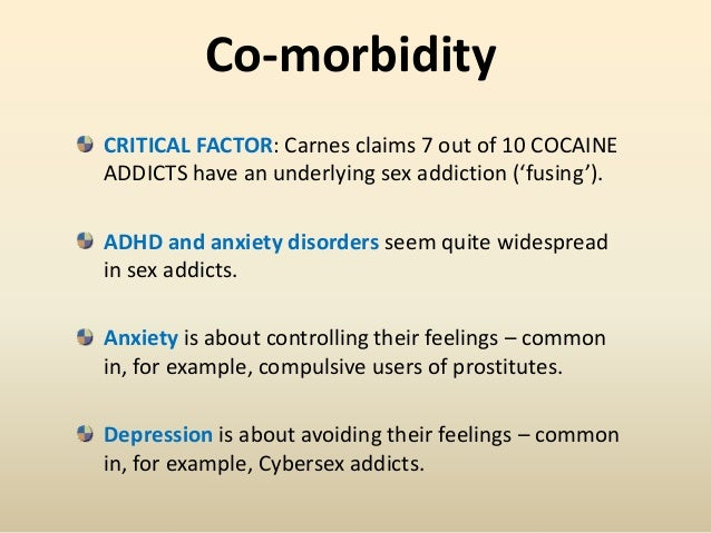 Sex addiction attachment disorder