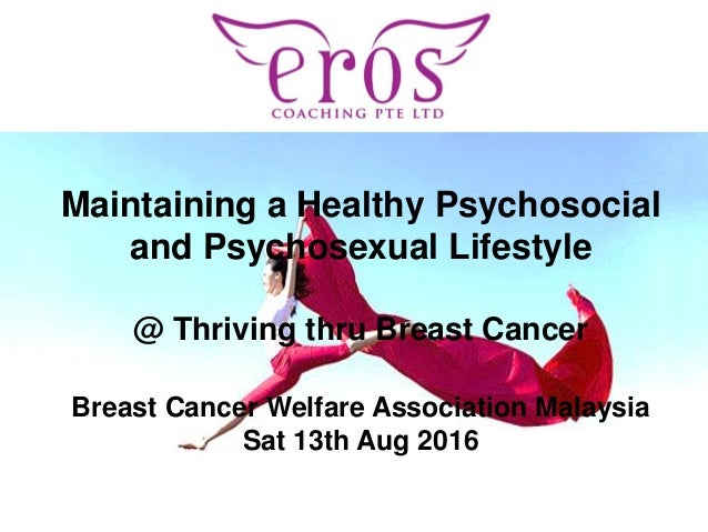 PRESENTATION NAME Maintaining a Healthy Psychosocial and Psychosexual Lifestyle @ Thriving thru Breast Cancer Breast Cance...