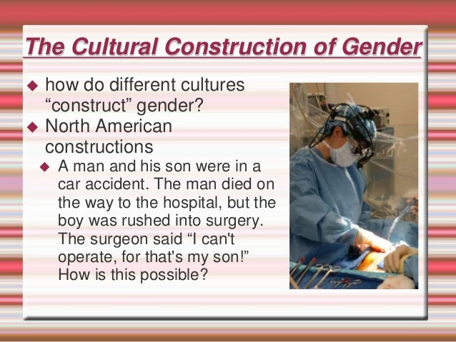 culture of transgender people as sex We assign a newborn's sex as either male or female, based on their genitals ( some countries offer a third identification option, for intersex people) once a sex is expression: how we present our gender in the world and how society, culture , community, and family perceive, interact with, and try to shape our gender gender.