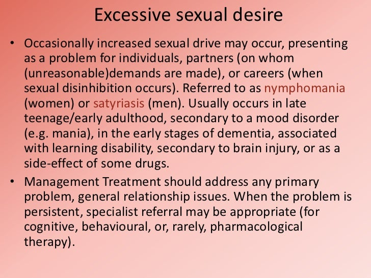 What Causes High Sex Drive In Women