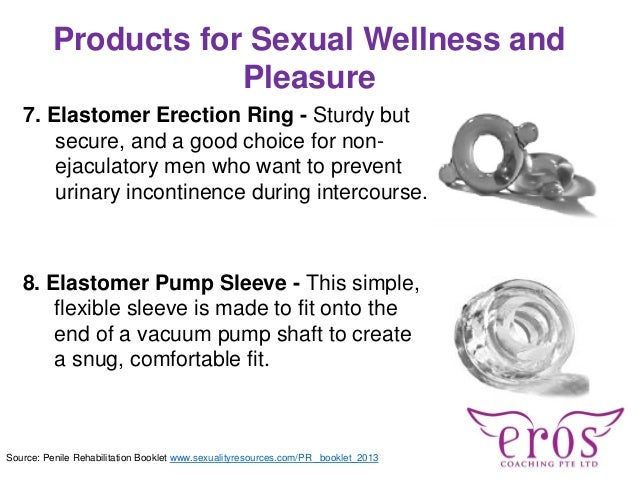 Products for Sexual Wellness and Pleasure 7. Elastomer Erection Ring - Sturdy but secure, and a good choice for non- ejacu...