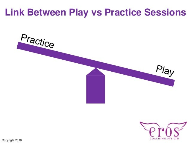 Link Between Play vs Practice Sessions Copyright 2018