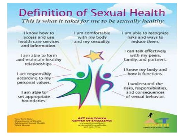 Definition of healthy sexuality