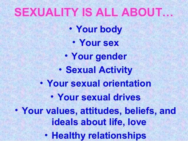 Sexuality powerpoint presentation