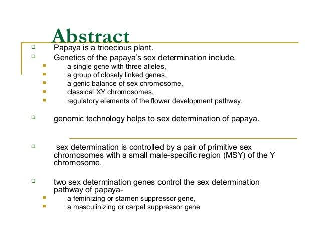 Sex Determination | Genetic Disorders