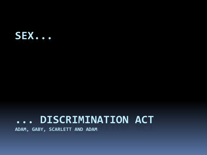 example hrc sex statement discrimination filed