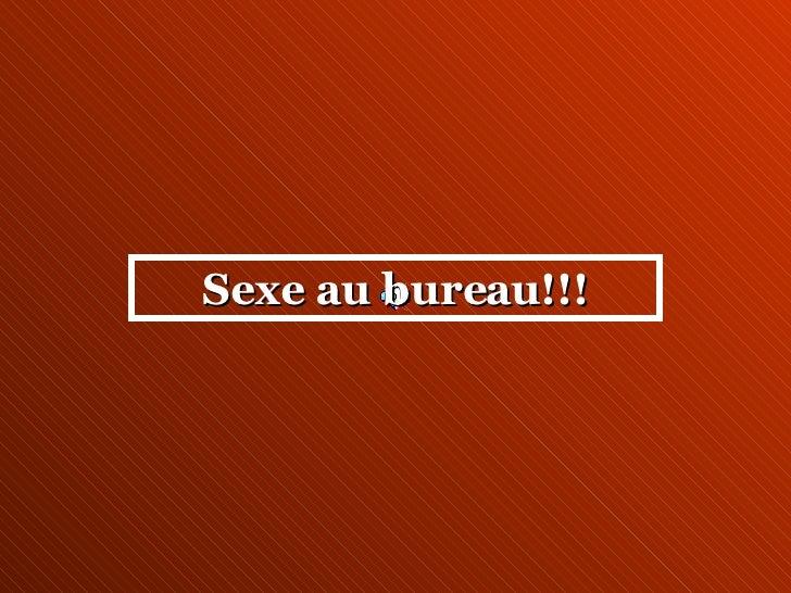 Sexe au bureau!!!