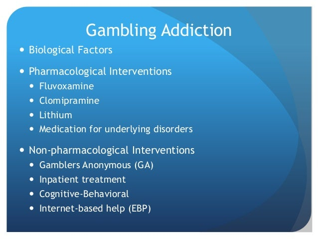Biological treatments for gambling casinos destroyed by hurricane katrina